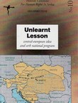 Unlearnt Lesson. Central-European Idea and Serb National Program