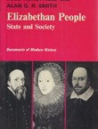Elizabethan People. State and Society