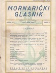 Mornarički glasnik 3/VIII/1940