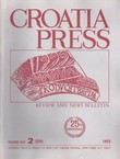Croatia Press XXV/2 (270)/1972