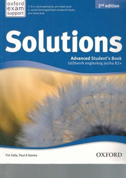 Solutions. Advanced Student's Book B2+ (2.Ed.)