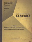 Schaum's Principles and Problems of Elementary Algebra