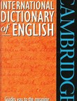 Cambridge International Dictionary of English
