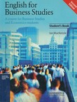 English for Business Studies. A Course for Business Studie and Economic Students (2nd Ed.)