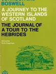 A Journey to the Western Islands of Scotland / The Journey of a Tour to the Hebrides (Reprint from 1924)