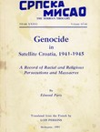 Genocide in Satellite Croatia, 1941-1945. A Record of Racial and Religious Persecutions and Massacres (Srpska misao XXXVI/65-66/1981)
