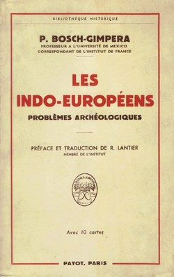 Les Indo-Europeens. Problemes archeologiques