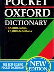 The Pocket Oxford Dictionary (8th Ed.)