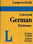 Langenscheidt's Universal German Dictionary. German-English, English-German