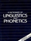 A Dictionary of Linguistics and Phonetics (3rd Ed.)