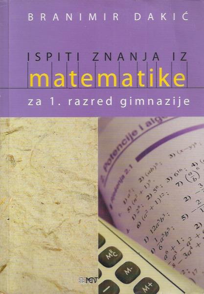 Ispiti Znanja Iz Matematike Za 1 Razred Gimje